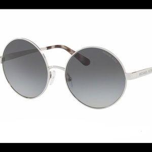 NWOT Michael Kors MK5020 Silver/Gray Sunglasses